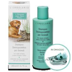 Shampoo Dermoprotettivo per Animali Il Giardino degli Amici Fedeli